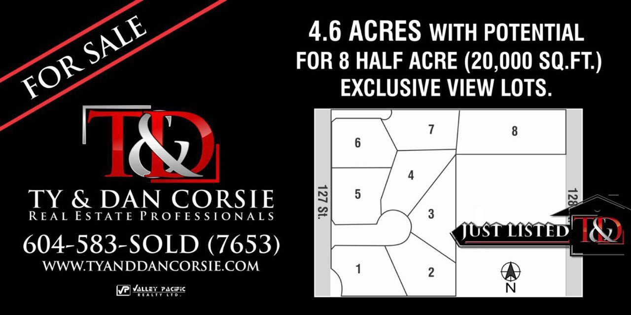 Main Photo: 5495 128 STREET in Surrey: Panorama Ridge Land for sale : MLS®# R2025100