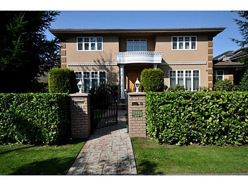 Main Photo: 1223 W 32ND Avenue in Vancouver: Shaughnessy House for sale (Vancouver West)  : MLS®# V1062374
