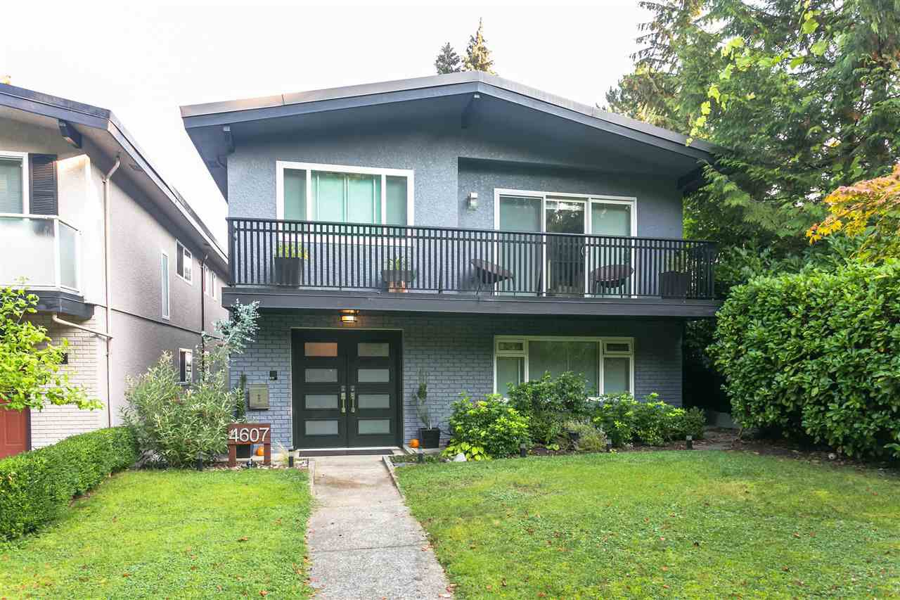 "Main Photo: 4607 W 16TH Avenue in Vancouver: Point Grey House for sale in ""Point Grey"" (Vancouver West)  : MLS®# R2504544"