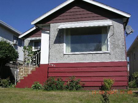 Main Photo: 1307 E 61ST AV.: House for sale (South Vancouver)