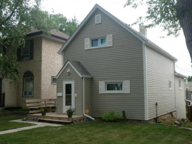 Main Photo: 232 Kitson Street in WINNIPEG: St Boniface Residential for sale (South East Winnipeg)  : MLS®# 1214325