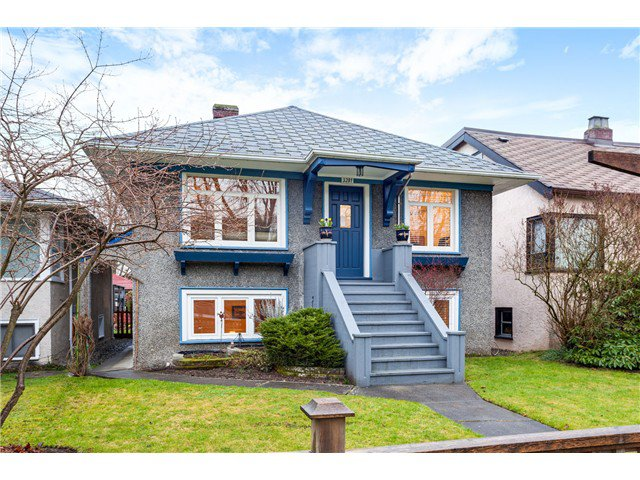 Main Photo: 3281 W 14TH AV in Vancouver: Kitsilano House for sale (Vancouver West)  : MLS®# V1044873