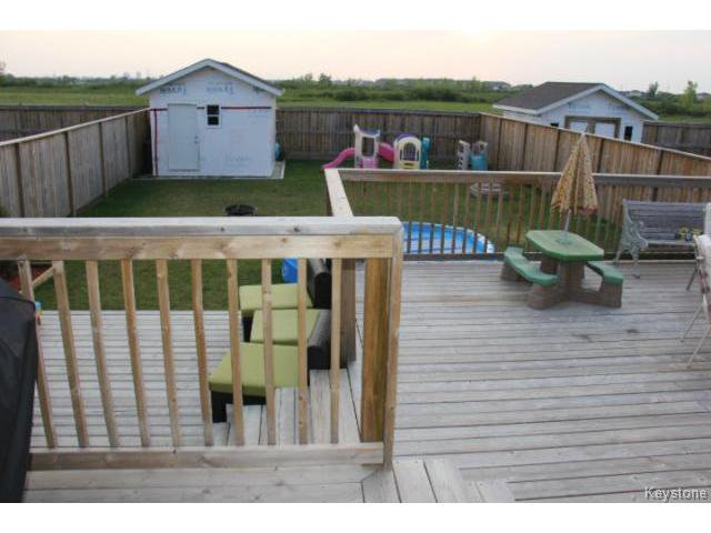 Photo 20: Photos: 63 Bill Blaikie Bay in WINNIPEG: Transcona Residential for sale (North East Winnipeg)  : MLS®# 1419228