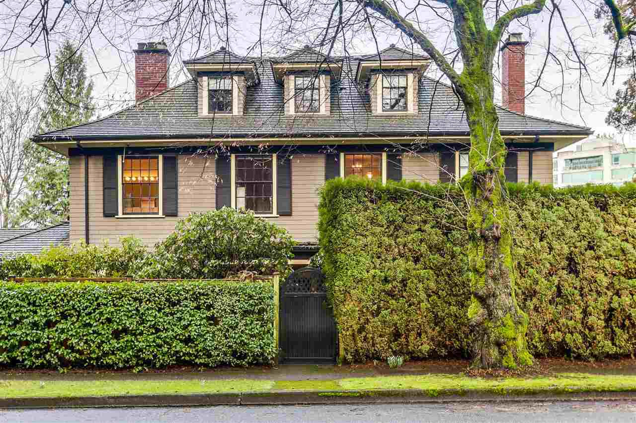 Main Photo: 1511 MARPOLE AVENUE in Vancouver: Shaughnessy House for sale (Vancouver West)  : MLS®# R2032478
