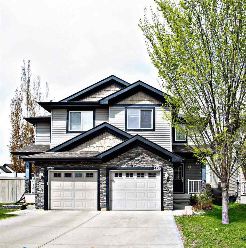 Main Photo: 2320 LEMIEUX Place in Edmonton: Zone 14 House Half Duplex for sale : MLS®# E4198271
