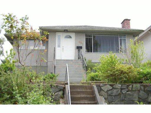 Main Photo: 1082 E 33RD AV in VANCOUVER: Knight House for sale (Vancouver East)  : MLS®# V1008555