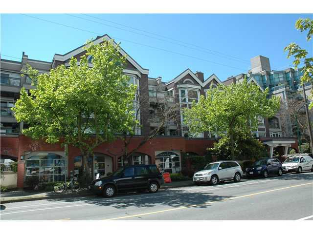 Main Photo: 317 1728 Alberni Street in Vancouver: Downtown VW Condo for sale (Vancouver West)  : MLS®# v1062680