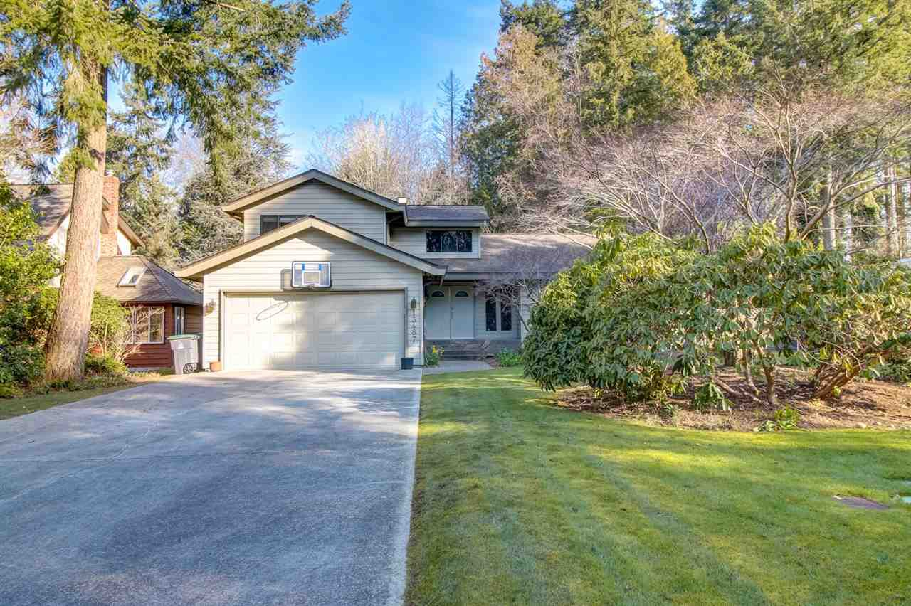 """Main Photo: 13487 18 Avenue in Surrey: Crescent Bch Ocean Pk. House for sale in """"Chatham Woods"""" (South Surrey White Rock)  : MLS®# R2447379"""