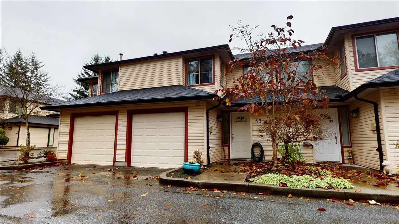 "Main Photo: 43 21960 RIVER Road in Maple Ridge: West Central Townhouse for sale in ""FOXBOROUGH HILLS"" : MLS®# R2518701"