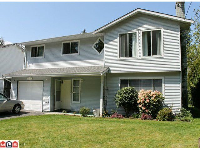 Main Photo: 34691 IMMEL Street in Abbotsford: Abbotsford East House for sale : MLS®# F1212262