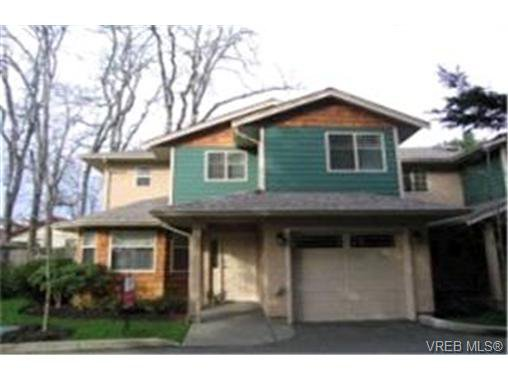 Main Photo:  in VICTORIA: SW Strawberry Vale Row/Townhouse for sale (Saanich West)  : MLS®# 357359