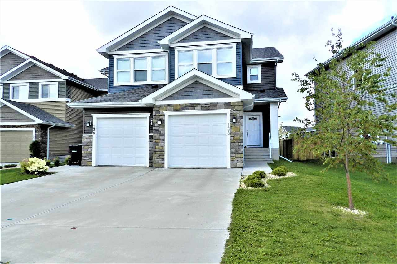 Photo 1: Photos: 138 Reed Place: Leduc House Half Duplex for sale : MLS®# E4169636