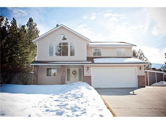 Main Photo: 487 Curlew Drive, Kelowna, BC, V1W 4L1: Kelowna House for sale (BCNREB)  : MLS®# 10129796