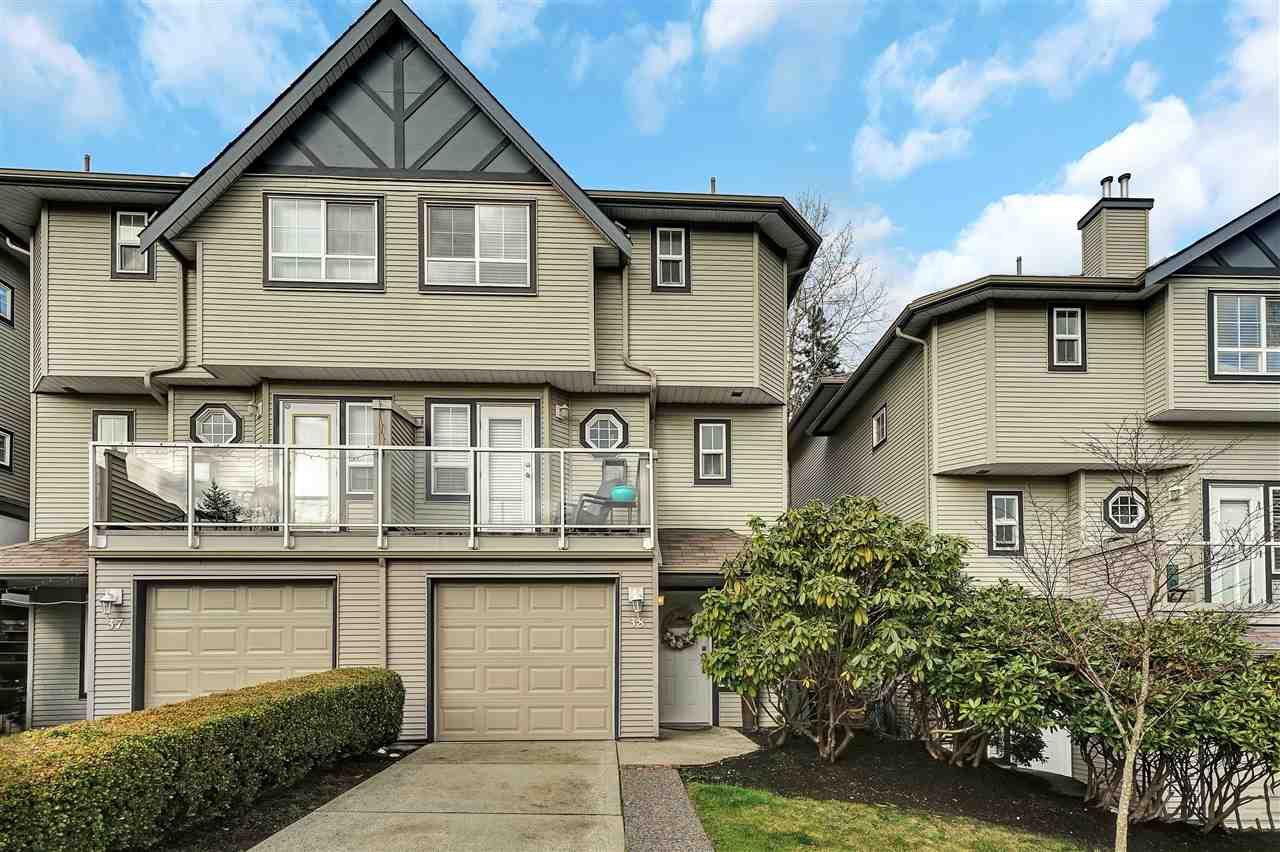 "Main Photo: 38 11229 232 Street in Maple Ridge: Cottonwood MR Townhouse for sale in ""FOXFIELD"" : MLS®# R2433114"