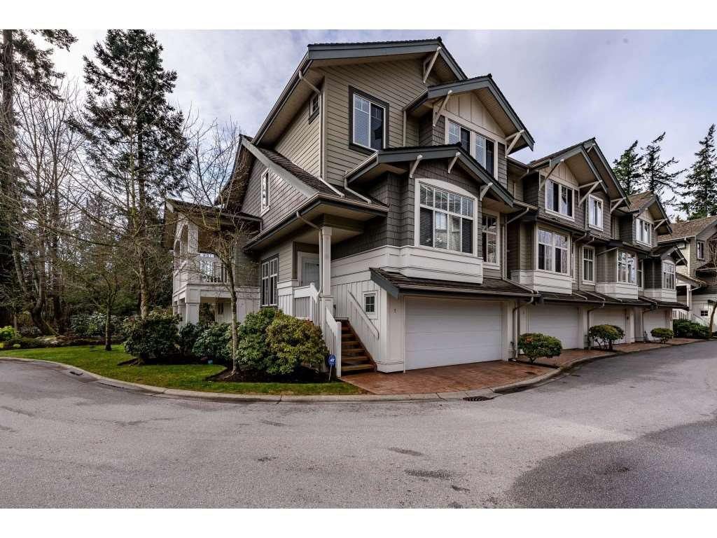 "Main Photo: 1 2133 151A Street in Surrey: Sunnyside Park Surrey Townhouse for sale in ""Kumaken"" (South Surrey White Rock)  : MLS®# R2443487"