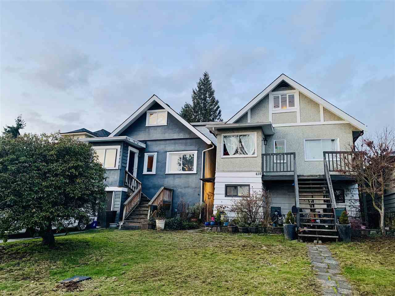 """Main Photo: 416 418 E 16TH Street in North Vancouver: Central Lonsdale House for sale in """"Grand Boulevard"""" : MLS®# R2473360"""