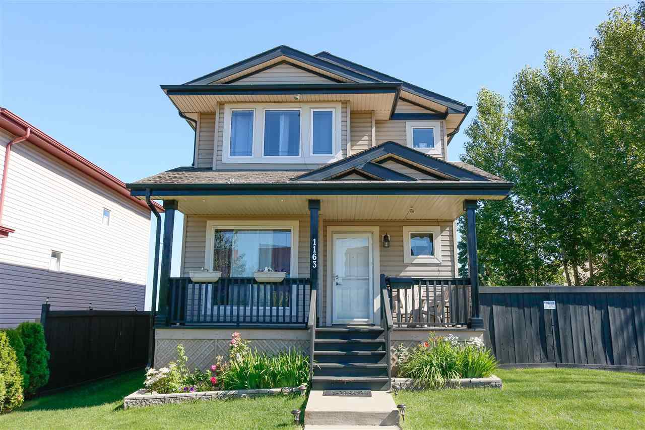 Main Photo: 1163 HYNDMAN Road in Edmonton: Zone 35 House for sale : MLS®# E4208244