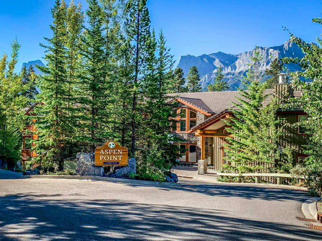 Main Photo: 102 3 Aspen Glen: Canmore Apartment for sale : MLS®# A1033196