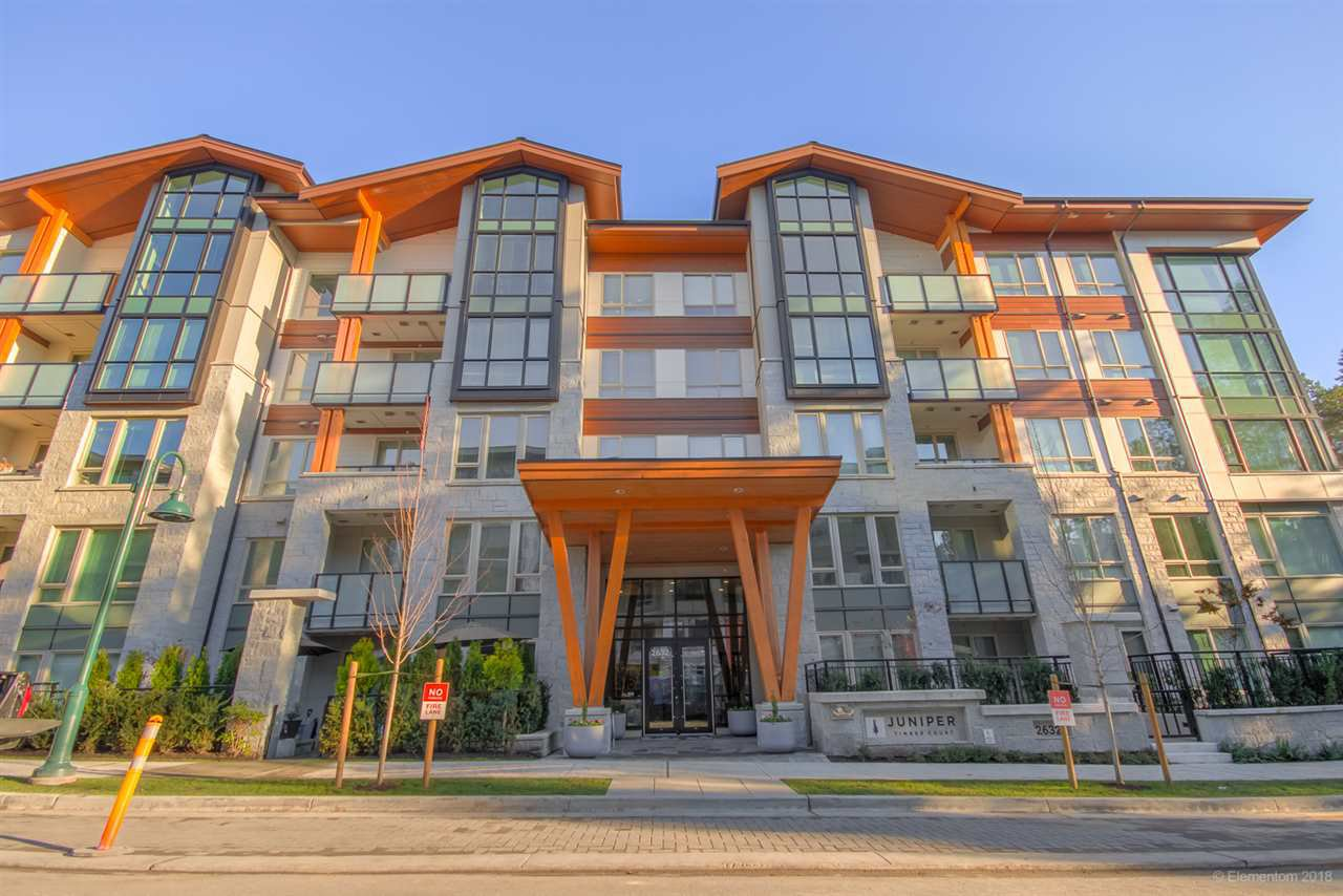 "Main Photo: 106 2632 LIBRARY Lane in North Vancouver: Lynn Valley Condo for sale in ""JUNIPER"" : MLS®# R2521824"