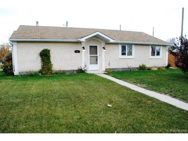 Main Photo: 77 Bourkewood Place in WINNIPEG: St James Residential for sale (West Winnipeg)  : MLS®# 1320484