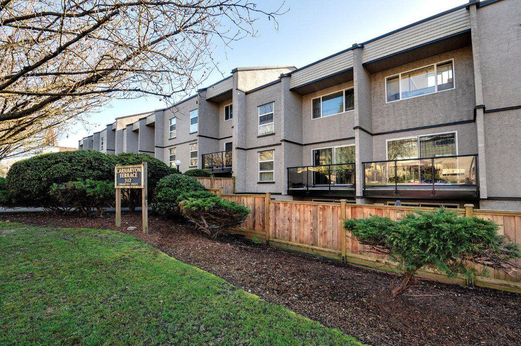 Main Photo: # 208 312 CARNARVON ST in New Westminster: Downtown NW Condo for sale : MLS®# V1107681
