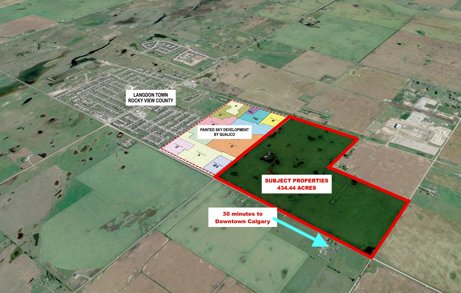 Main Photo:  in Calgary: Langdon Land for sale (Rocky View County)