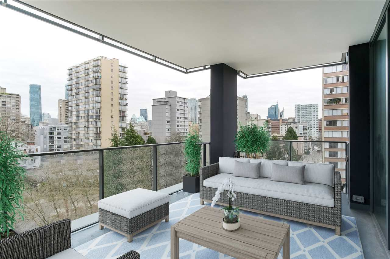 Main Photo: 801 1171 JERVIS Street in Vancouver: West End VW Condo for sale (Vancouver West)  : MLS®# R2433859