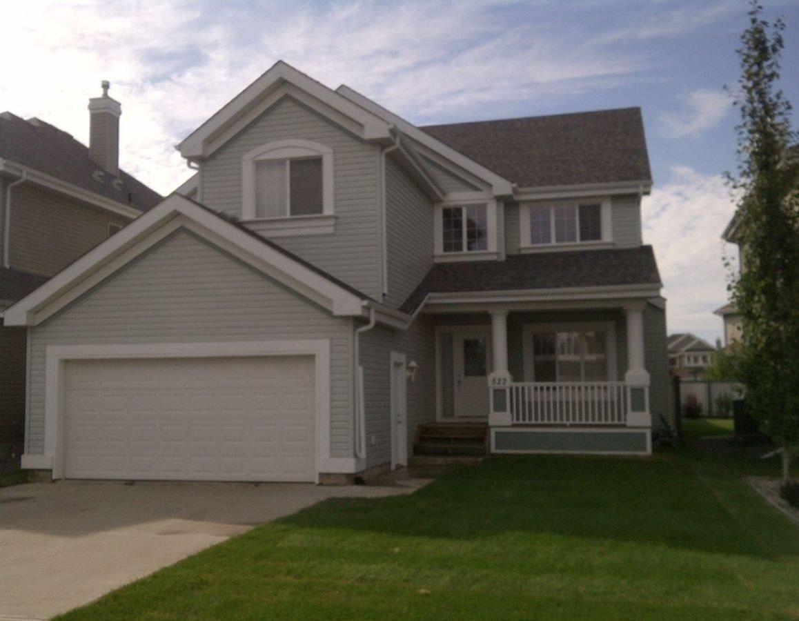 Main Photo: 522 STEWART Crescent in Edmonton: Zone 53 House for sale : MLS®# E4192186
