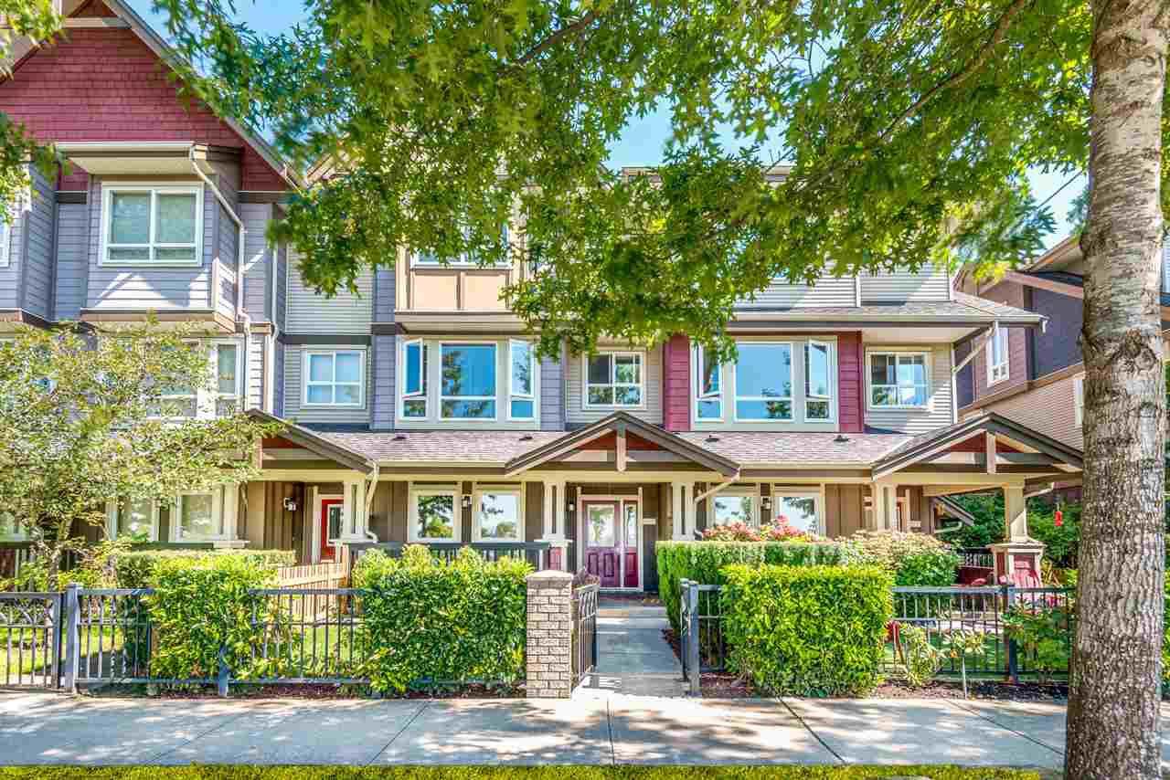 "Main Photo: 106 7088 191 Street in Surrey: Clayton Townhouse for sale in ""Montana"" (Cloverdale)  : MLS®# R2497643"