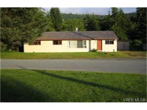 Main Photo:  in PORT RENFREW: Sk Port Renfrew Single Family Detached for sale (Sooke)  : MLS®# 379526