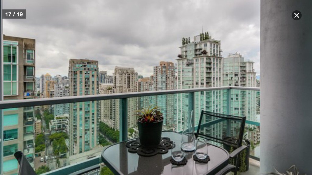 Photo 10: Photos: 833 Homer St in Vancouver: Yaletown Condo for rent (Vancouver West)