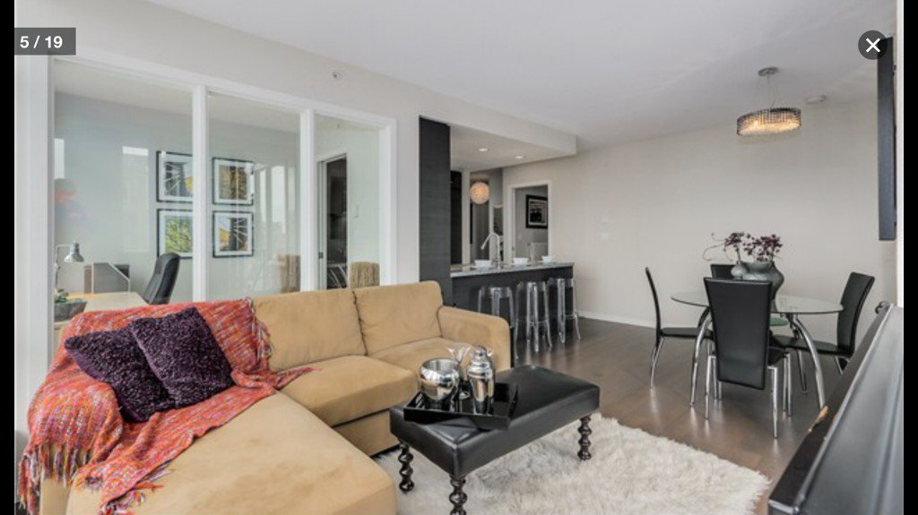 Photo 11: Photos: 833 Homer St in Vancouver: Yaletown Condo for rent (Vancouver West)