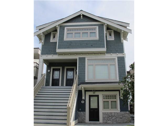 Main Photo: 1836 Greer Ave, in Vancouver: Kitsilano Triplex for sale (Vancouver West)  : MLS®# V958013