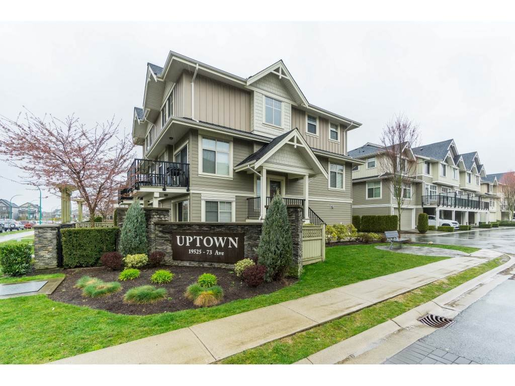 "Main Photo: 87 19525 73 Avenue in Surrey: Clayton Townhouse for sale in ""Uptown"" (Cloverdale)  : MLS®# R2448579"