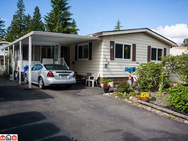 "Main Photo: 138 3665 244TH Street in Langley: Otter District Manufactured Home for sale in ""LANGLEY GROVE ESTATES"" : MLS®# F1217824"