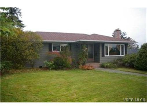 Main Photo:  in VICTORIA: SW Strawberry Vale House for sale (Saanich West)  : MLS®# 448435