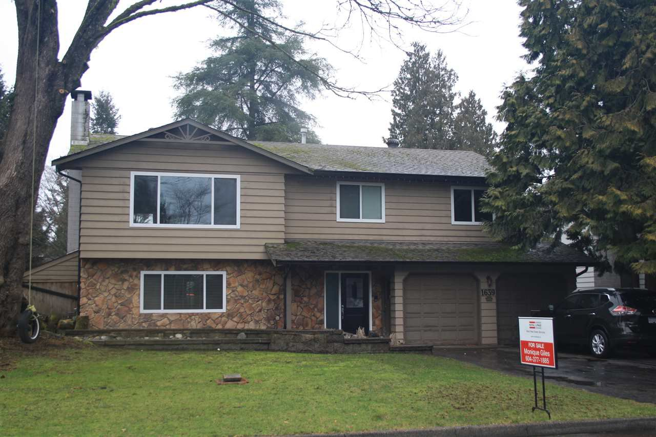 Main Photo: 1639 CHADWICK AVENUE in Port Coquitlam: Glenwood PQ House for sale : MLS®# R2031717