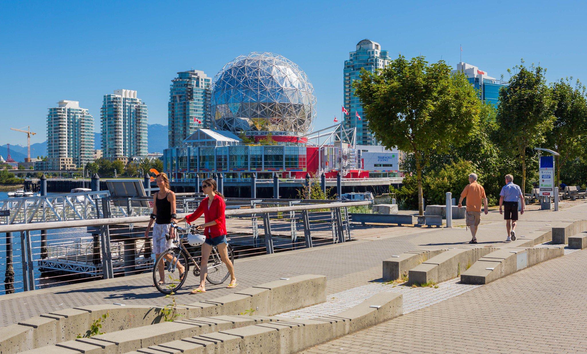 Photo 9: Photos: 803 1708 Ontario Street in Vancouver: False Creek Condo for sale (Vancouver East)