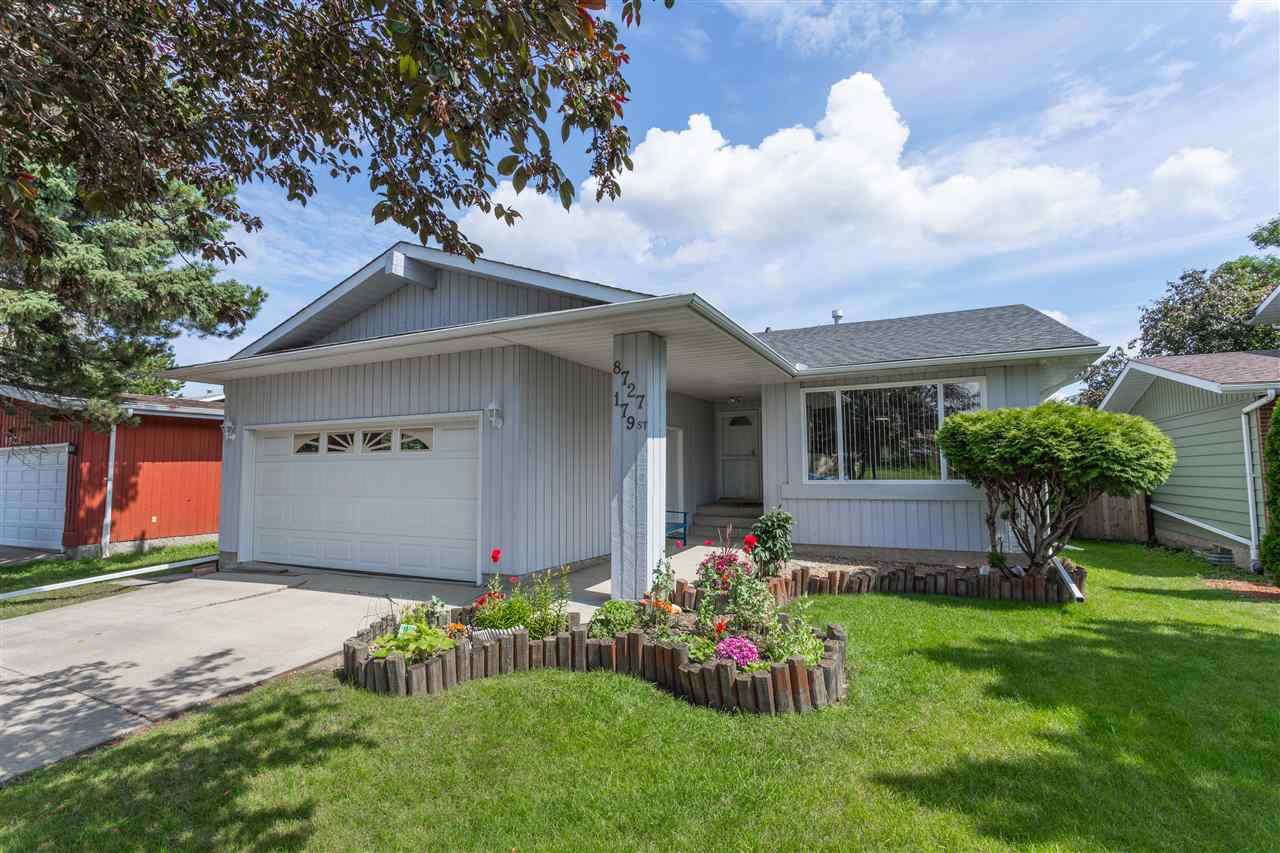 Main Photo: 8727 179 Street in Edmonton: Zone 20 House for sale : MLS®# E4166417