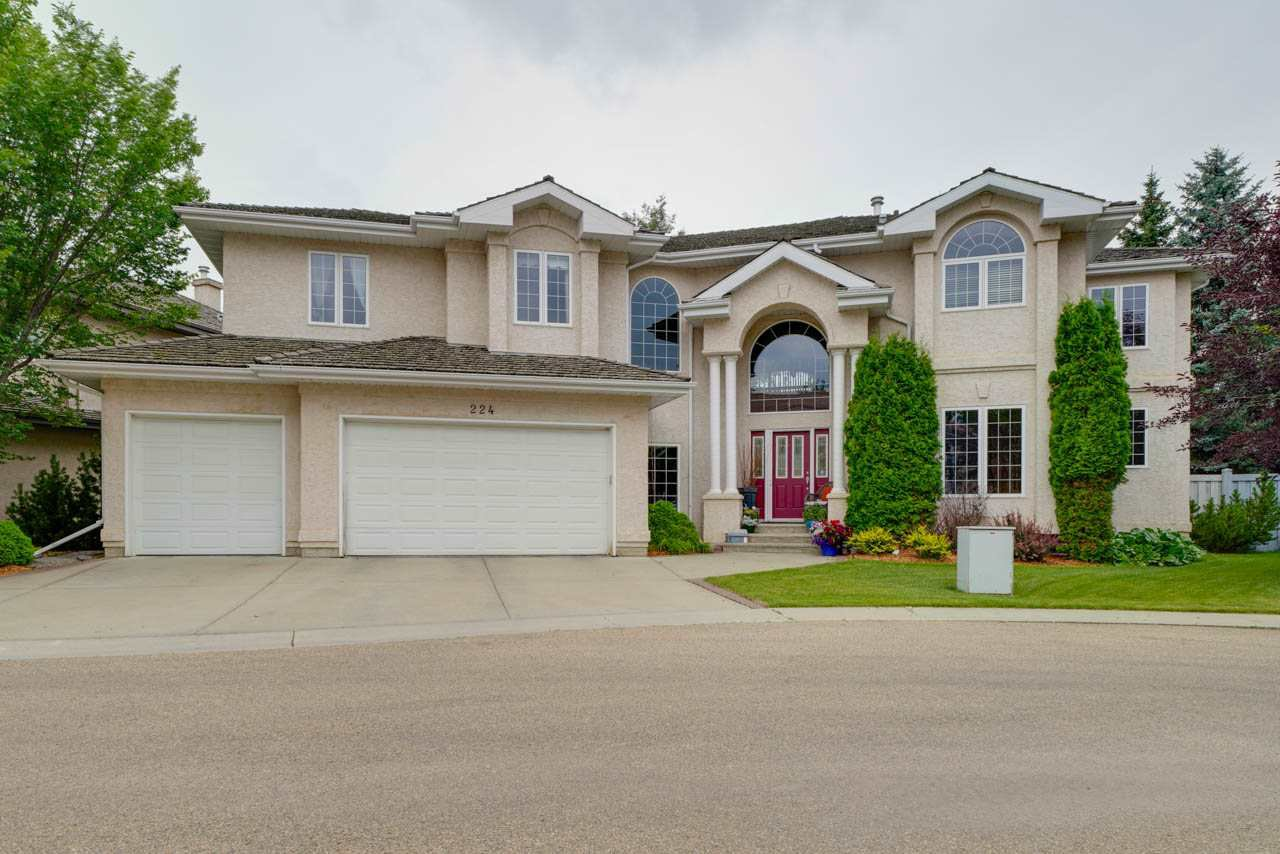 Main Photo: 224 WOLF WILLOW RD NW in Edmonton: Zone 22 Condo for sale