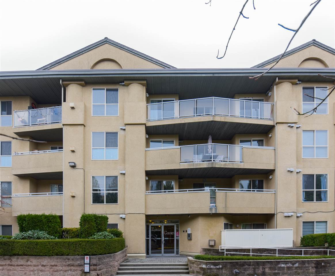 """Main Photo: 406 13780 76 Avenue in Surrey: East Newton Condo for sale in """"Earls Court"""" : MLS®# R2515734"""