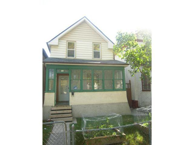 Main Photo: 519 Toronto Street in WINNIPEG: West End / Wolseley Residential for sale (West Winnipeg)  : MLS®# 1219749