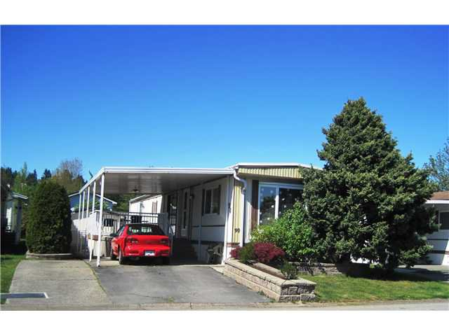 """Main Photo: 90 145 KING EDWARD Street in Coquitlam: Maillardville Manufactured Home for sale in """"MILL CREEK VILLAGE"""" : MLS®# V1006227"""
