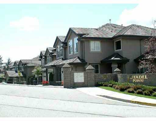 Main Photo: 6 688 CITADEL DR in Port_Coquitlam: Citadel PQ Townhouse for sale (Port Coquitlam)  : MLS®# V313356