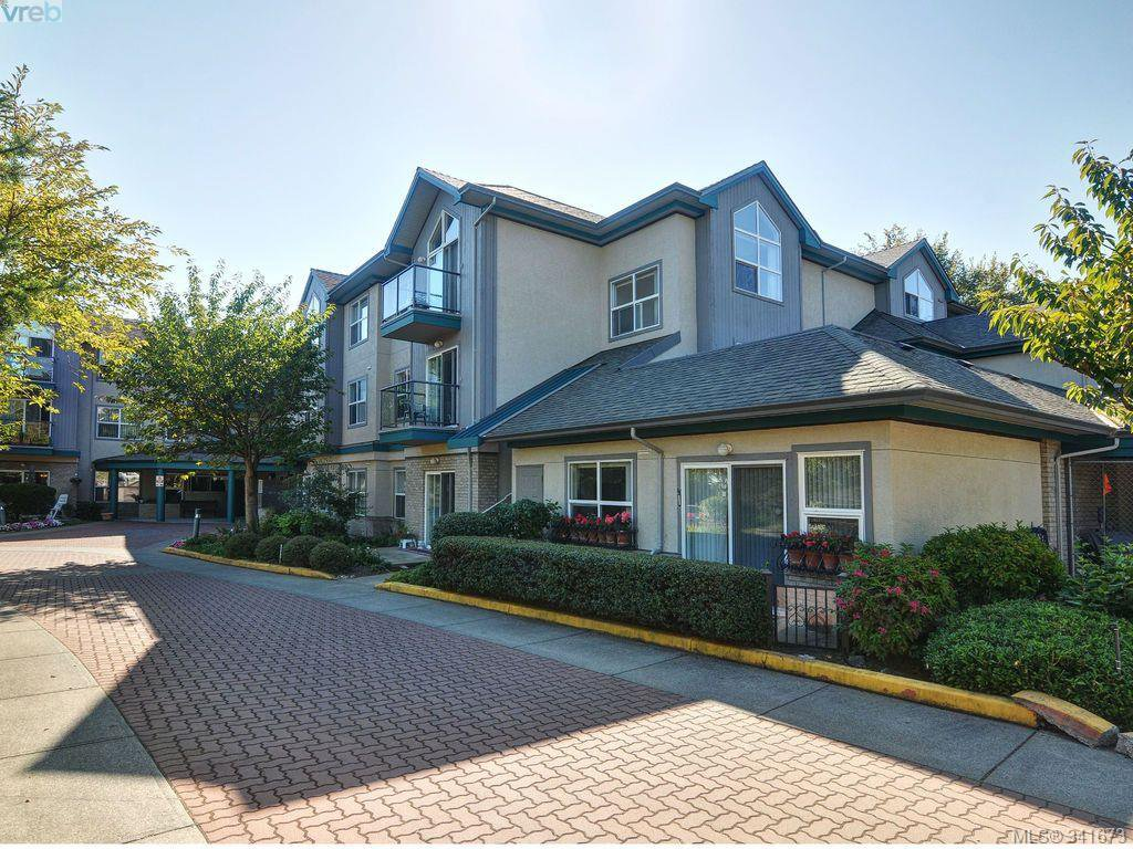 Main Photo: 114 1485 Garnet Road in VICTORIA: SE Cedar Hill Condo Apartment for sale (Saanich East)  : MLS®# 341673