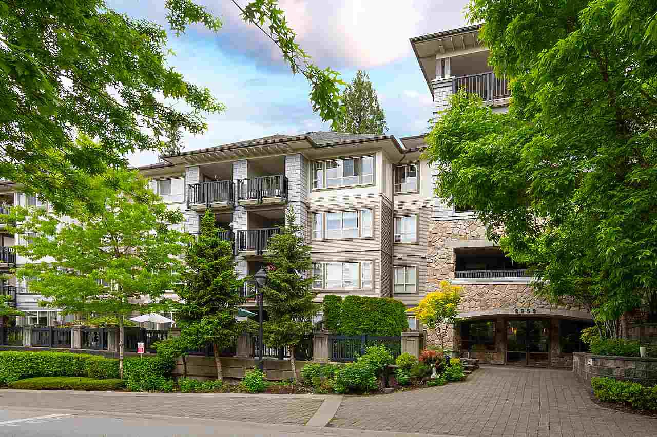 "Main Photo: 207 2959 SILVER SPRINGS Boulevard in Coquitlam: Westwood Plateau Condo for sale in ""TANTALUS"" : MLS®# R2459001"