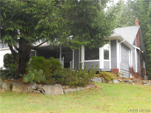 Main Photo: 1632 Barrett Dr in NORTH SAANICH: NS Dean Park House for sale (North Saanich)  : MLS®# 599205