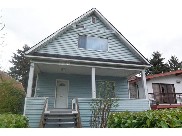 Main Photo: 3528 WELWYN ST in Vancouver: Victoria VE House for sale (Vancouver East)  : MLS®# V1026520
