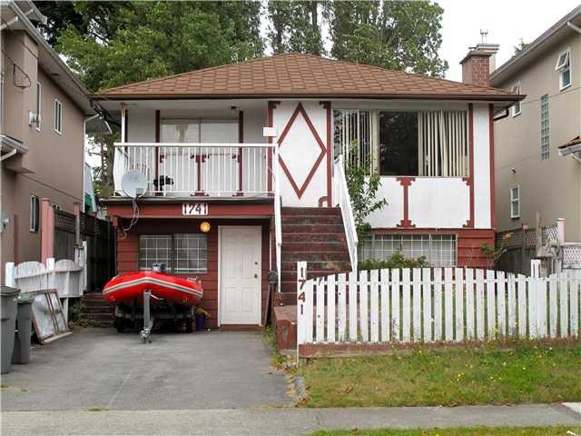 Main Photo: 1741 E 47TH AV in VANCOUVER: Killarney VE House for sale (Vancouver East)  : MLS®# V1022026