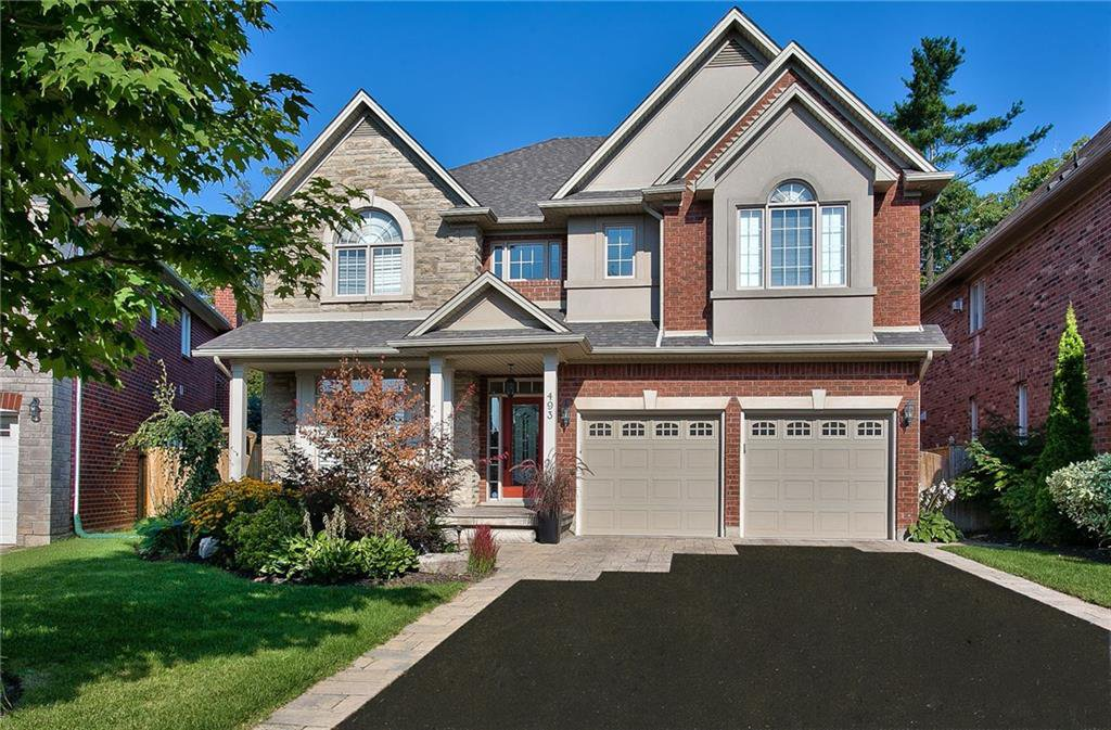 Main Photo: 493 Spruce Needle Crt in : 1018 - WC Wedgewood Creek FRH for sale (Oakville)  : MLS®# 30558014